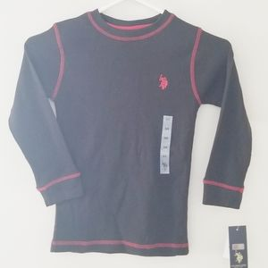 US Polo ASSN child size new with tags